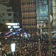 アソークの交差点のデモ隊