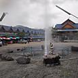 メカチャンの温泉2