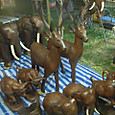 売店で売っていた木彫りの動物