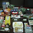 日本に着いて最初の買い物(食材)