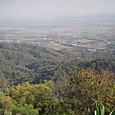 ドイトン山中のビューポイントからの景色