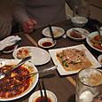 麻雀の後は中華料理