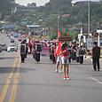 パレードの先頭
