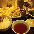 てんやの天ぷら定食