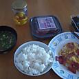今日の昼食(ひとりご飯)
