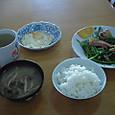 20日の朝食